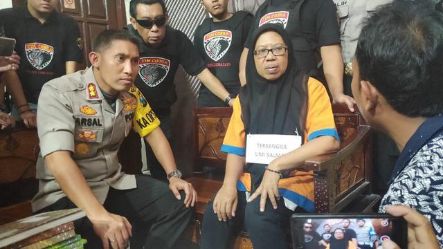 Umi Salma Buronan Investasi Bodong Tertangkap Di Kamar Indekos