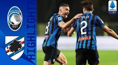 Berita Video Highlights Serie A, Atalanta Geser Inter Milan Usai Kalahkan Sampdoria 2-0