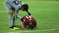 Timnas Indonesia U-19 gagal ke final Piala AFF U-19. (Aditya Wany)
