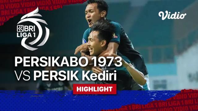 Berita Video, Highlights Pertandingan Persikabo 1973 Vs Persik Kediri pada Jumat (17/9/2021)