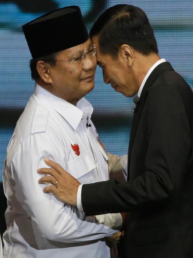 Momen Keakraban SBY, Prabowo, dan Jokowi