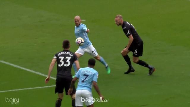 Berita video gol-gol yang tercipta pada laga Manchester City vs Swansea City dalam lanjutan Premier League 2017-2018. This video presented by BallBall.
