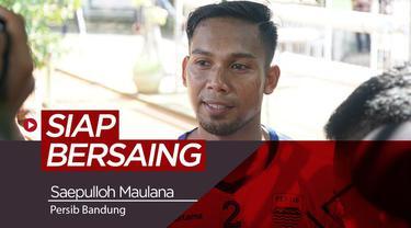 Berita video tentang pemain anyar Persib Bandung, Saepulloh Maulana yang siap bersaing.