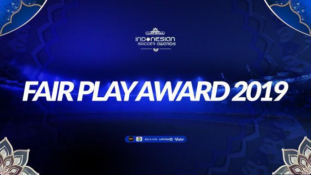 Berita video mengenai Fair Play Team Indonesian Soccer Awards 2019, siapa yang terpilih? Saksikan video berikut ini.