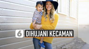 Myka dan suaminya, James belum lama menyerahkan anak asal China yang mereka adopsi pada 2016.