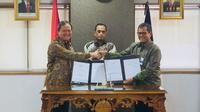 Kementerian Perhubungan melakukan penandatanganan Perjanjian Kerjasama Penyelenggaraan Prasarana Perkeretaapian Umum Makassar – Parepare dengan skema Kerja Sama Pemerintah dengan Badan Usaha (KPBU).