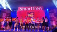 Peluncuran paket data 4G terbaru Smartfren oleh Deputy CEO Smartfren Djoko Tata Ibrahim (Liputan6.com/ Agustin Setyo W)