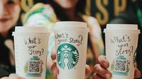 Kampanye Starbucks dengan tema 'Starbucks Cup of Stories' (dok.Instagram@starbucksindonesia/https://www.instagram.com/p/B0gMIuSns2M/Devita Nur Azizah