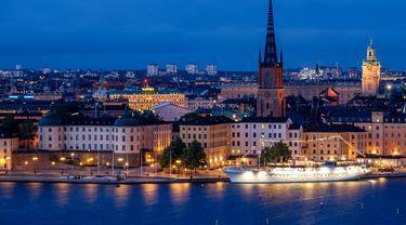 Ilustrasi Kota Stockholm, Swedia (pixabay)