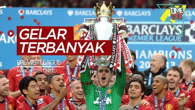 Berita video Time Out kali ini membahas 4 klub yang meraih gelar Premier League terbanyak, di mana Manchester United dengan 13 trofi juara.
