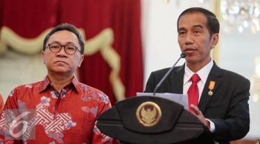 Zulkifli Hasan Jokowi