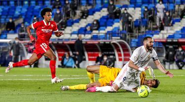 FOTO: Imbang Lawan Sevilla, Real Madrid Gagal Puncaki Klasemen