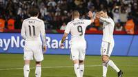 Bale, Benzema, Cristiano Ronaldo (REUTERS/Youssef Boudlal)