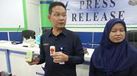 BPOM Gorontalo mengimbau kepada masyarakat untuk lebih berhati-hati saat membeli produk kecantikan dan obat-obatan. (Liputan6.com/ Arfandi Ibrahim)