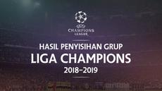Berita video hasil penyisihan grup Liga Champions 2018-2019. Barcelona bungkam PSV 4-0, Liverpool menang 3-2 atas PSG.