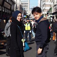 Selain mesra dan harmonis, Dhini Aminarti dan Dimas Seto juga saling mendukung satu sama lain. (Foto: instagram.com/dimasseto_1)