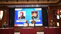 Penandatanganan Memorandum of Understanding/Nota Kesepahaman (MoU) antara Direktur Utama Pertamina Nicke Widyawati dan Jaksa Agung Republik Indonesia ST Burhanudin di Jakarta, Rabu (25/11/2020).