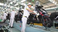 Proses produksi Honda Vario eSP (AHM)