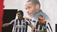 Felipe Melo, Thierry Henry dan Amauri. (Bola.com/Dody Iryawan)