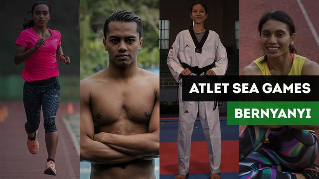 """Berita video momen para atlet Indonesia di SEA Games 2017 bernyanyi untuk hari ulang tahun Republik Indonesia ke-72 pada Kamis (17/8/2017). Mereka bernyanyi lagu """"Dari Sabang Sampai Merauke""""."""