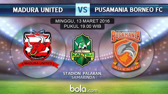 Madura United Vs Borneo Pusamania Fc