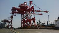 Ship To Shore (STS) Pelabuhan Tanjung Perak (Dian Kurniawan)