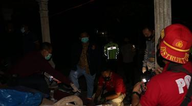 Ledakan petasan menyebabkan tiga orang meninggal dunia dan lima lainnya luka, di Kebumen. (Foto: Liputan6.com/Polres Kebumen)