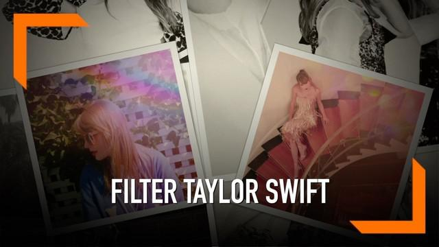 Instagram menghadirkan filter baru untuk instagram stories yakni 4.26. Angka ini disebut sebagaitanggal rilis album terbaru Taylor Swift.