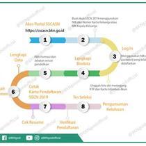 Alur Pendaftaran pada Portal SSCASN. Dok BKN