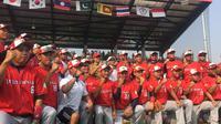 Gubernur DKI Anies Baswedan meresmikan 10 GOR dan dua Venue Asian Games (Liputan6.com/M Radityo)