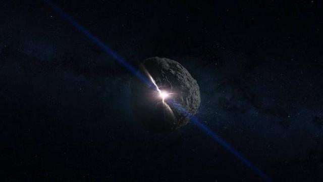 Ilustrasi asteroid Bennu