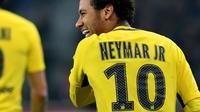 Lokomotiv Moskow pernah menolak Neymar ketika masih muda dan memiliki banderol 10 juta euro (Rp 167 miliar). (AFP/Denis Charlet)