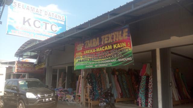 Berburu Kain Kiloan Di Surga Bahan Tekstil Cigondewah Bandung