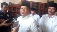 Paslon Pilgub Jabar Sudrajat di Garut (Liputan6.com/Jayadi Supriadin)