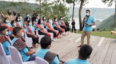 Magang di Bali, Menparekraf Berharap Para Siswa Bisa Kembangkan SDM Pariwisata Danau Toba