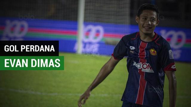 Barita video Evan Dimas mencetak gol perdana untuk Selangor FA saat mengalahkan Terengganu FA 3-1 pada babak ketiga Piala Malaysia d Stadion Sultan Ismail Nasiruddin, Jumat (16/3/2018).