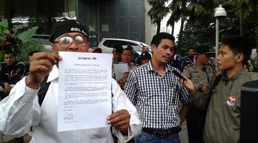 Kecewa KPK, Progres '98 Nginap di Gedung Antikorupsi 21 Hari