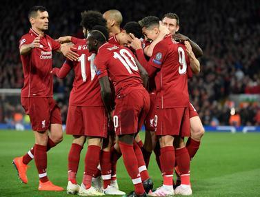Liverpool Selangkah Lagi ke Semifinal