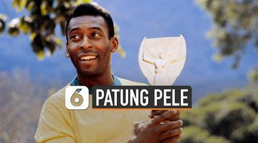 Konfederasi Sepak Bola Brasil meluncurkan patung Pele sebagai bagian dari peringatan 50 tahun sejak kemenangan piala dunia 1970.