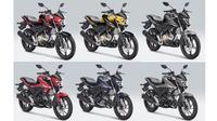 Yamaha Vixon dan Vixion R hadir warna-warna baru. (Dok Yamaha)