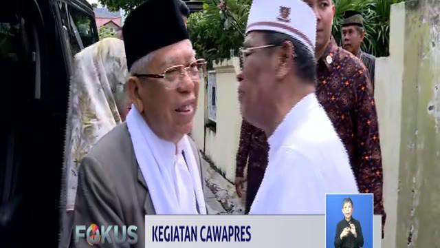 Usai takziah, Ma'ruf Amin menyatakan telah mempersiapkan diri dengan menerima masukan dari sejumlah pakar dalam menghadapai debat cawapres pilpres 2019.