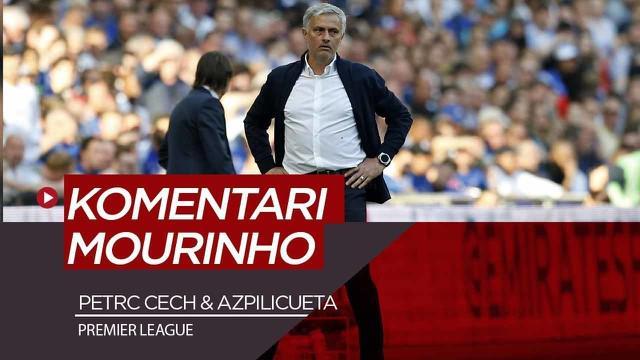 Berita Video Komentar Petr Cech dan Azpilicueta soal kepindahan Jose Mourinho ke Tottenham Hotspur