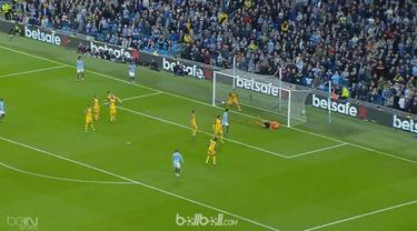 Leroy Sane tampil brilian saat membawa Manchester City meraih kemenangan 3-1 atas Brighton & Hove Albion dalam laga lanjutan Liga ...