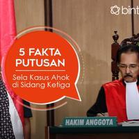 5 Fakta Putusan Sela Kasus Ahok di Sidang Ketiga. (Digital Imaging: Muhammad Iqbal Nurfajri/Bintang.com)
