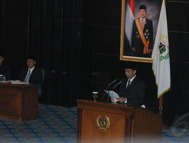 Jokowi Resmi Mundur Jadi Gubernur DKI