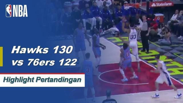 Trae Young mencetak 33 poin dengan 12 assist John Collins menambah 25 dengan delapan rebound saat Hawks menang 130-722.