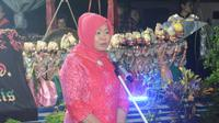Dalam pagelaran Wayang Sunda, Cepot ikut mensosialisasikan Empat Pilar. (foto: dok. MPR RI)