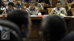 Menurut Saleh, terdapat beberapa kendala yang dihadapi dalam penyerapan anggaran pada kuartal I/2016, di antaranya adalah perubahan struktur organisasi Kemenperin, Jakarta, Selasa (19/4). (Liputan6.com/JohanTallo)