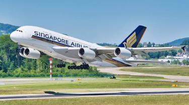 Singapore Airlines Bebaskan Biaya Pesan Ulang Tiket Pesawat Menyikapi COVID-19