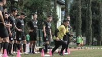 Tim PSS Sleman mulai berlatih di Bandung sebagai persiapan menghadapi Piala Menpora, Sabtu (13/3/2021). (Foto: MO PSS Sleman)